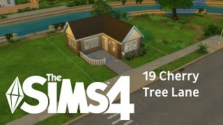 The Sims 4 House building - 19 Cherry Tree Lane