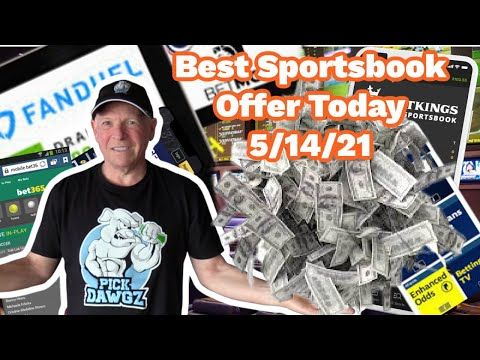 Best Online Sportsbook Offer Today 5/14/21  FREE BET!!!