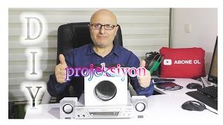 DIY Smartphone Projector - How To Make Smartphone Projector