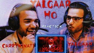 CARRYMINATI - YALGAAR [REACTION] | YALGAAR HO REVIEW | YALGAAR - CARRYMINATI REACTION | TCRH