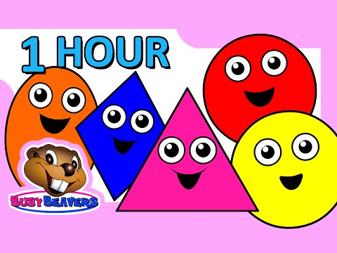 "Thumbnail: ""Colors & Shapes DVD"" - 1 Hour, Super Simple Colours, Little Baby Songs, Kids Learn Nursery Rhymes"