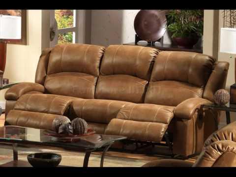 Reclining Leather Sofa with Drop-Down Table & Reclining Leather Sofa with Drop-Down Table - YouTube islam-shia.org