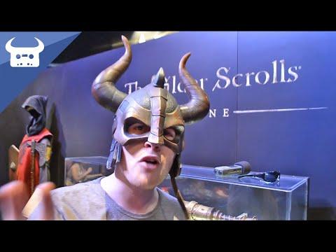 DAN BULL AT E3 | The Elder Scrolls Online