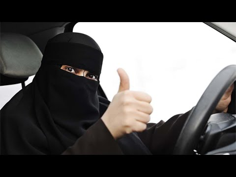 Saudi Arabian WOMEN ALLOWED to DRIVE!