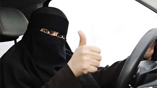 Saudi Arabian WOMEN ALLOWED to DRIVE!