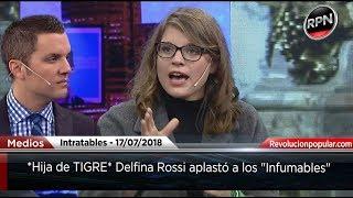 *Hija de TIGRE* Delfina Rossi aplastó a los