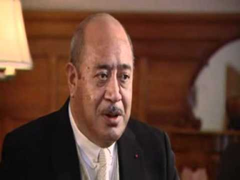 By George its the King of Tonga - YouTube