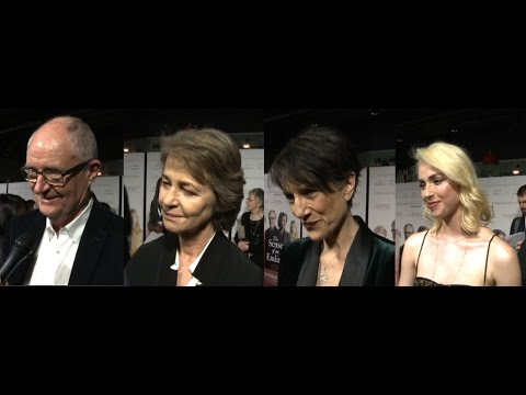 The Sense of an Ending - Interviews - Jim Broadbent, Charlotte Rampling