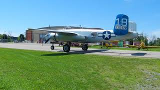 B-25J Maid in the Shade taxiing back (2) - Gatineau 20180811