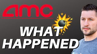 AMC STOCK UPDATE - WHAT HAPPENED TODAY?!?