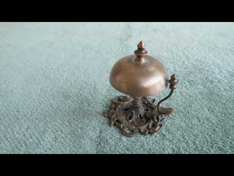 Antique Brass Counter Bells