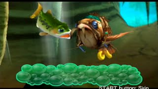 Finny the Fish & the Seven Waters - (Stage 5) Ruin Jungle *Walkthrough [PS2]