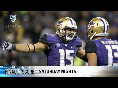 Highlights: No. 18 Washington football beats Utah on last-second field goal