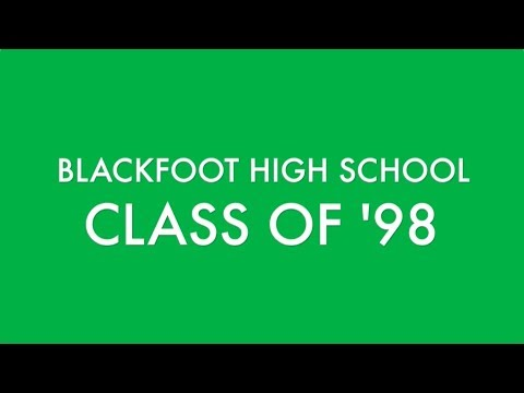 Blackfoot High School Class of 98 20 Year Reunion (no movement)