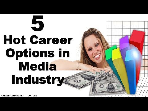 5 Hot Career Options in Media Industry