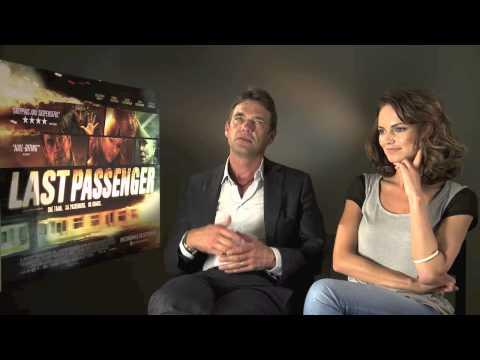 Interview: Dougray Scott + Kara Tointon   Last Passenger (The Fan Carpet)