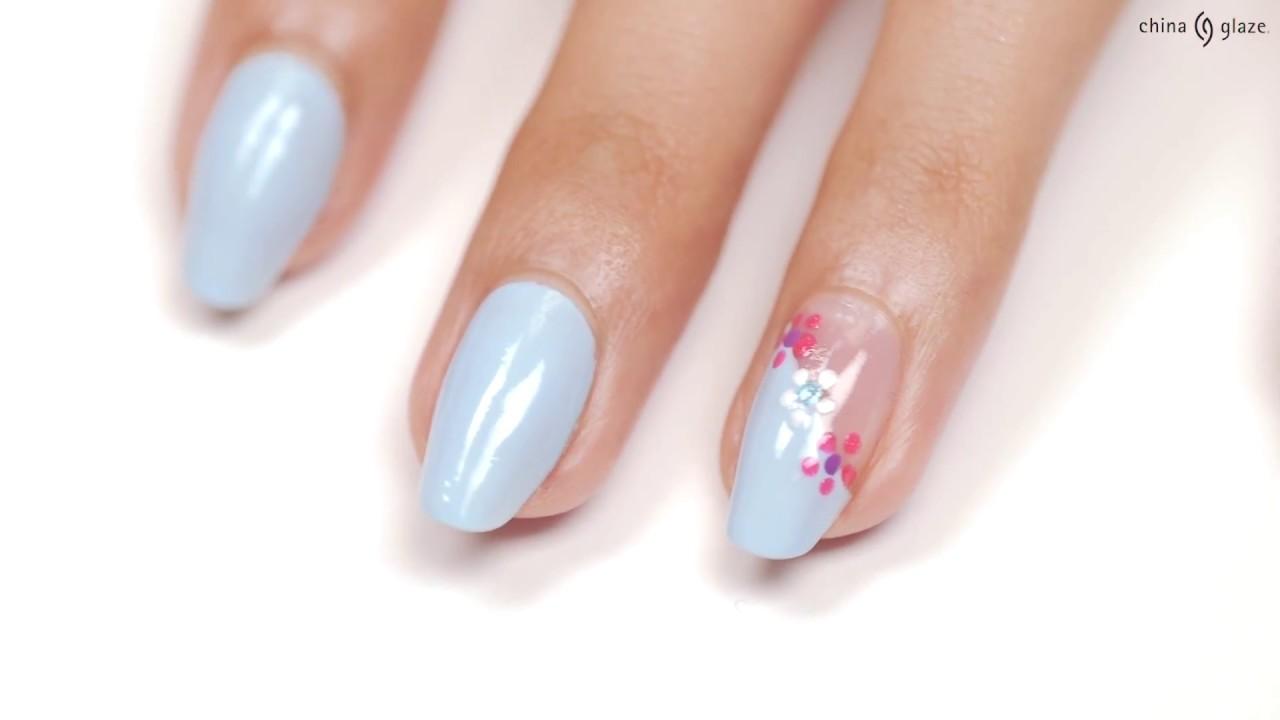 Ulta Exclusive Flower Nail Art