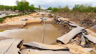 05-22-2020 Sanford, MI - Extreme Flood Damage - Sanford Begins Recovery
