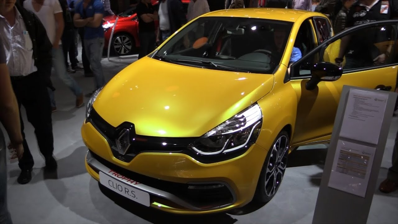 renault clio rs 2015 in depth review interior exterior youtube. Black Bedroom Furniture Sets. Home Design Ideas