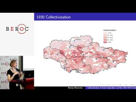 Natalya Naumenko - Collectivization of Soviet Agriculture and the 1932-1933 Famine