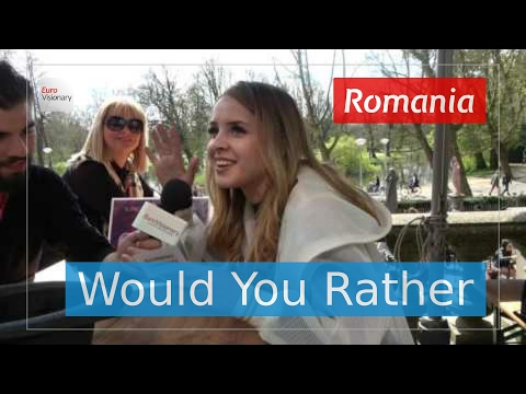 6 questions for Ilinca ft. Alex Florea from Romania - Eurovision 2017 - Interview - Yodel It!