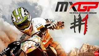 MXGP - MOTOCROSS - Modo Carreira #1 - ( Helmet Cam )
