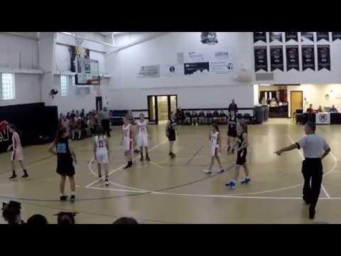 NCA vs Endeavor middle school girls 12 12 17