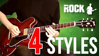 Jazz vs Blues vs Rock vs Metal - 4 STYLES IN 1 SOLO