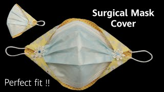 Easy Cute Surgical Face Mask Cover How to Surgical Mask Cover More Protection