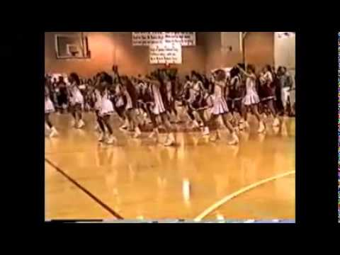William B Travis High School 1994-95 Rebelettes and Cheerleaders Pep Ralley Routine