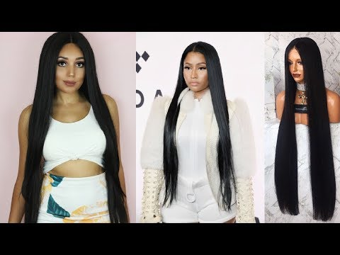 40 INCH WIG FOR $45! | New Born Free MLU08 Wig Review