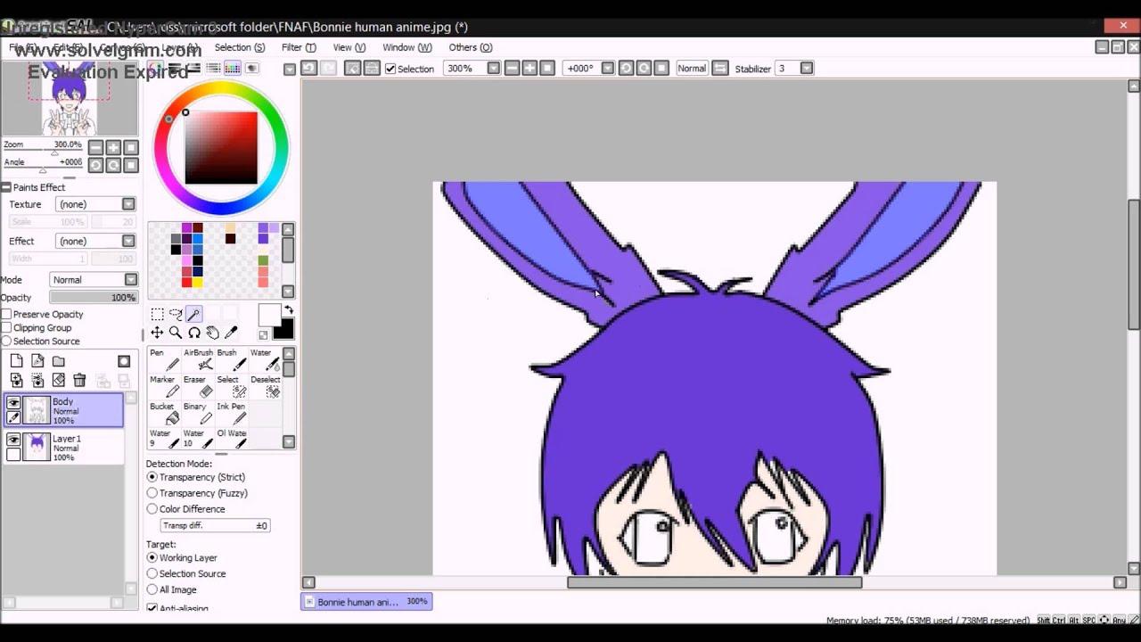humans anime speedpaint - 1280×720