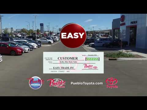PUEBLO TOYOTA   EASY TRADE IN