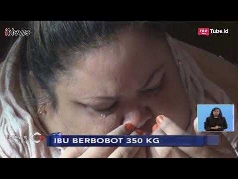 Titi Wati, Wanita Berbobot 350 Kg Menangis saat akan Dievakuasi ke Rumah Sakit - iNews Siang 11/01