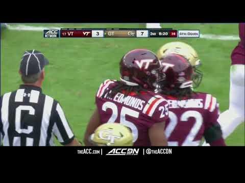 Virginia Tech vs Georgia Tech College Football Condensed Game 2017