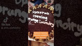 Syukuran Opening Orange Laundry Cabang Ngaliyan, Semarang. Semoga Berkah, Aamiin...