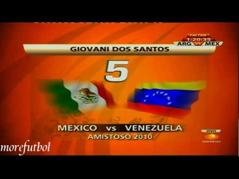 Giovani Dos Santos Top 10 Goles