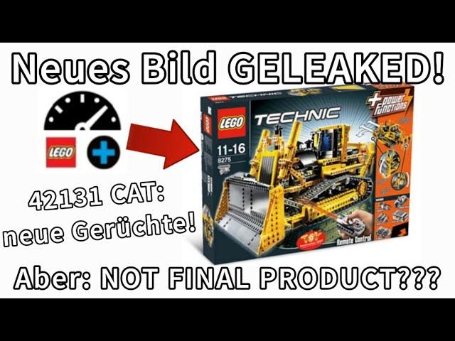LEGO® Technic 42131 CAT D11T Bulldozer [2021] - BILD GELEAKED & 2 Gerüchte! #shorts