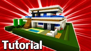 Minecraft Tutorial: How To Make A Modern House #10