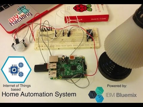 IoT Python app with a Raspberry Pi and Bluemix