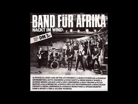"""Band Für Africa – """"Nacht Im Wind"""" (12 in) (Germany CBS) 1985"""