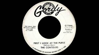 The Contours - First I Look At The Purse