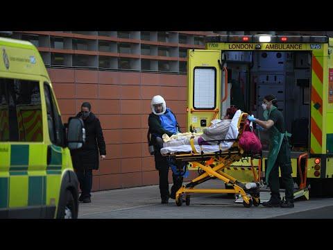 Some U.K. hospitals 'on the brink' amid COVID-19 surge