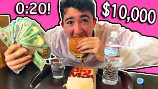 Eat The Big Mac In 20 Seconds - Win $10,000