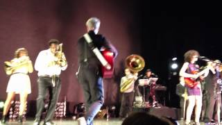 David Byrne & St. Vincent -- Burning Down the House -- Minneapolis 9/15/12