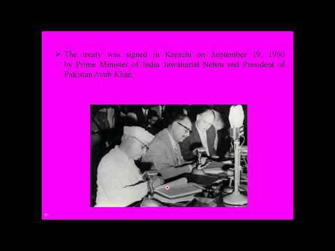 Indus water treaty 1960 in hindi