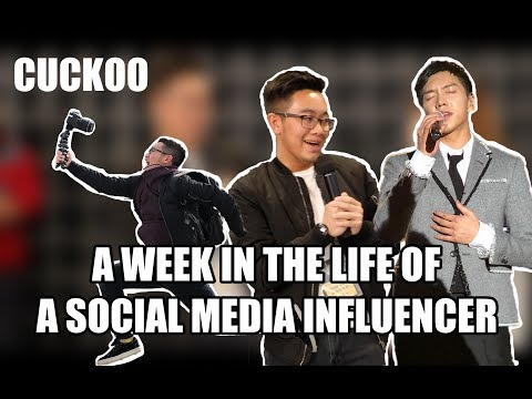 A WEEK IN THE LIFE OF A SOCIAL MEDIA INFLUENCER