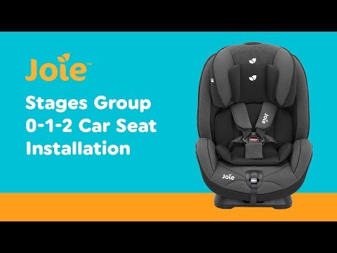 Installation Guide For Joie - Stages Group 0-1-2 Car Seat| Smyths Toys