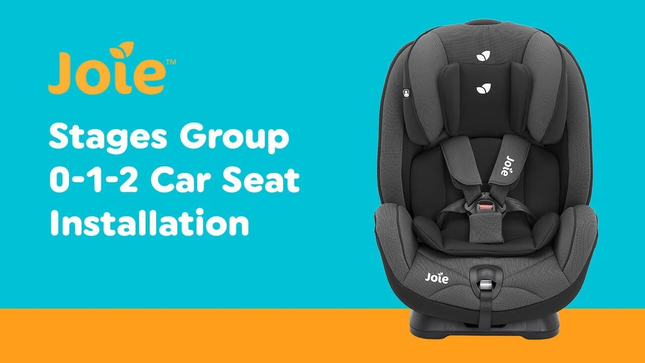Stage 2 Car Seat With Base Installation Guide For Joie Stages Group 1 2 Car Seat Smyths Toys