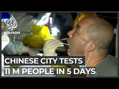 Chinese city Qingdao tests 11 million people for coronavirus